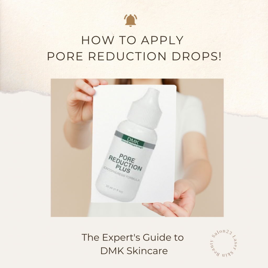 How To Apply Pore Reduction Drops!